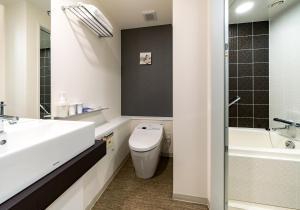 A bathroom at Daiwa Roynet Hotel Kyoto Shijo Karasuma