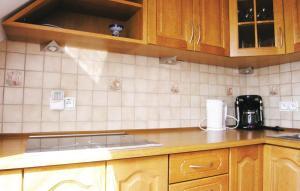 Kuchnia lub aneks kuchenny w obiekcie Apartment Borowy Mlyn *LIV *