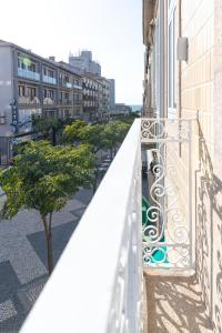 A balcony or terrace at Botica Guesthouse