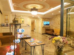 مطعم أو مكان آخر لتناول الطعام في فندق بوس سلطان أحمد
