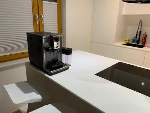 Kuchnia lub aneks kuchenny w obiekcie apartamenty ANGEL CENTRUM
