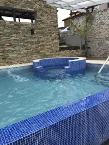 The swimming pool at or near Complejo Ayenué & Spa