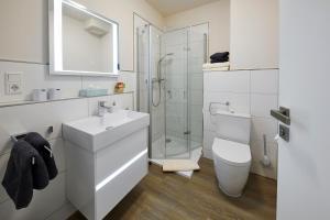 Ein Badezimmer in der Unterkunft Luxus Ferienwohnung Mein kleines Edelweiss