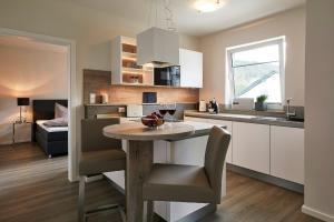 Küche/Küchenzeile in der Unterkunft Luxus Ferienwohnung Mein kleines Edelweiss