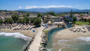 A bird's-eye view of Kalyves Beach Hotel