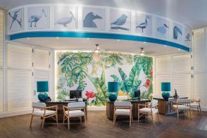 De lobby of receptie bij Ocean Maya Royale - Adults Only