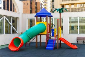 Children's play area at HB Hotels Sequóia Alphaville