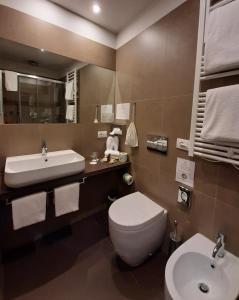 Een badkamer bij Hotel Palazzo Vannoni