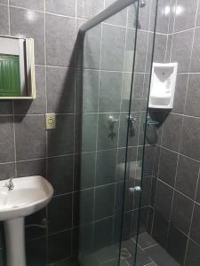 Um banheiro em Pousada das Alamedas
