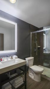 A bathroom at Chicago Marriott at Medical District/UIC