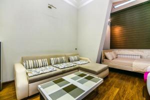 Uma área de estar em LUX apartment near in Hard Rock