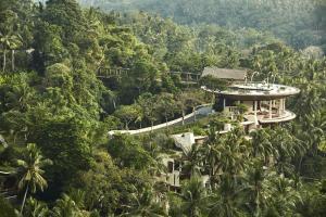 A bird's-eye view of Four Seasons Resort Bali at Sayan