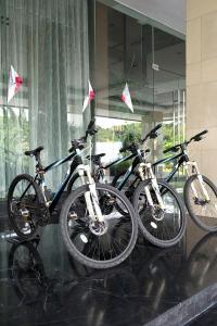 Cycling at or in the surroundings of Grand Zuri Cikarang Jababeka