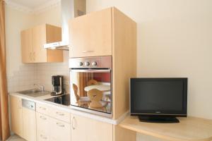 Küche/Küchenzeile in der Unterkunft Panorama
