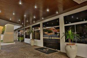 O saguão ou recepção de Agulhon Hotel