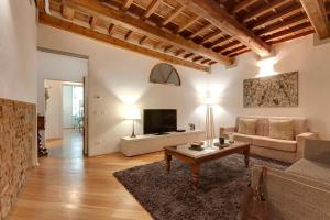 A seating area at Apartment Il Magnifico - Florence