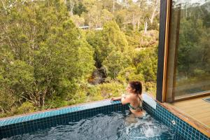 The swimming pool at or near Peppers Cradle Mountain Lodge