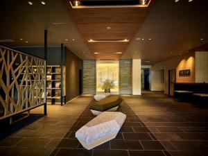 The lobby or reception area at Kumano-bettei Nakanoshima