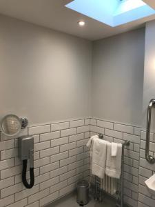 A bathroom at The Hog Hotel