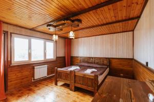 Кровать или кровати в номере El Rancho