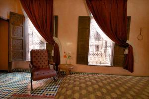 A seating area at Dar Anebar