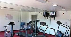 The fitness center and/or fitness facilities at Motel 6-Brownsville, TX North