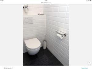 Ein Badezimmer in der Unterkunft lisa apartment