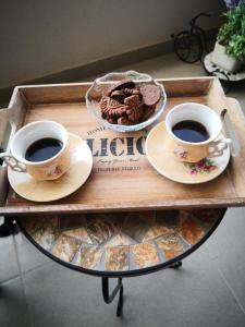 Breakfast options available to guests at Sweetime Apartment in Podstrana