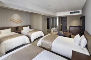 Cama o camas de una habitación en Hotel Vischio Kyoto by GRANVIA