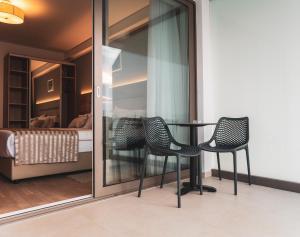 Area soggiorno di Hotel Kaneo