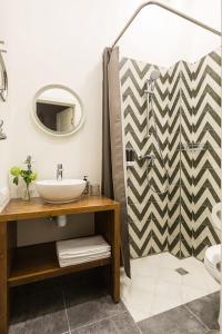 Ванная комната в Апартаменты География
