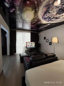 Телевизор и/или развлекательный центр в Apartment Sergey