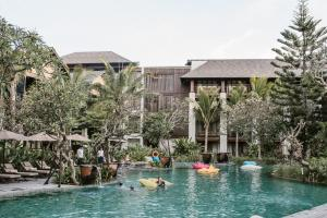 The swimming pool at or near Ramayana Suites