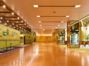 The lobby or reception area at Hotel Shikanoyu
