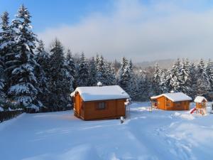 Obiekt Domki Pod Jałowcem zimą