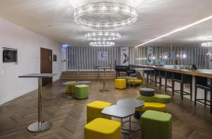 The lounge or bar area at MAXX by Steigenberger Vienna