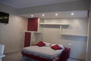 Un pat sau paturi într-o cameră la NF8 Torino