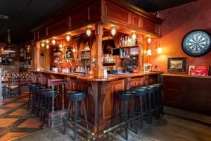 The lounge or bar area at Hotel Anna Casparii