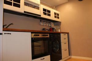 Köök või kööginurk majutusasutuses V&T Roo Apartment