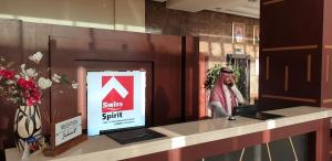 O saguão ou recepção de Swiss Spirit Hotel & Suites Metropolitan