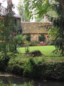 A garden outside Moulin de Champrond -Montmirail -Sarthe
