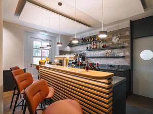 Lounge oder Bar in der Unterkunft Bahnhof Oberkirch