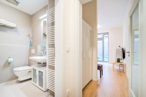 Koupelna v ubytování Studio Vlněna