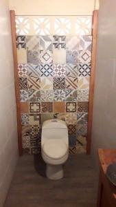 A bathroom at Totoco Eco-lodge