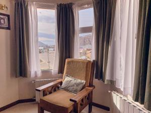 Un lugar para sentarse en Hotel Cumbres Nevadas