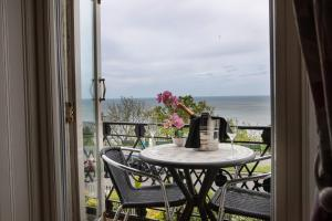 A balcony or terrace at Crown Spa Hotel Scarborough by Compass Hospitality
