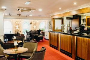 A restaurant or other place to eat at Crown Spa Hotel Scarborough by Compass Hospitality
