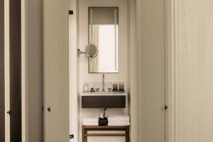 A bathroom at August