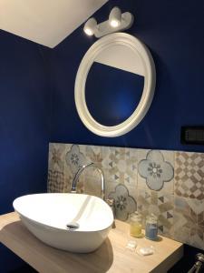 Salle de bains dans l'établissement Hotel Domus Tiberina