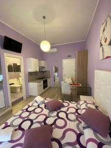 A bed or beds in a room at al Corso 203